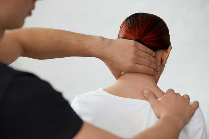 تشخیص علت گردن درد