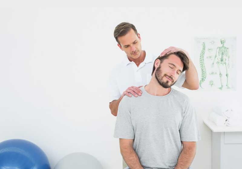 درمان گردن درد شدید