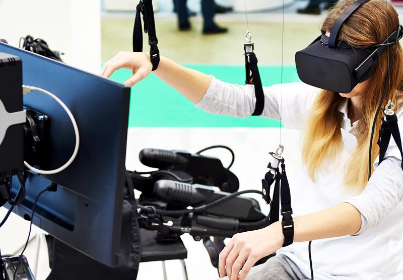 واقعیت مجازی فیزیوتراپی
